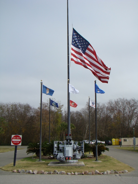 Flag at Half-staff for Pearl Harbor Day