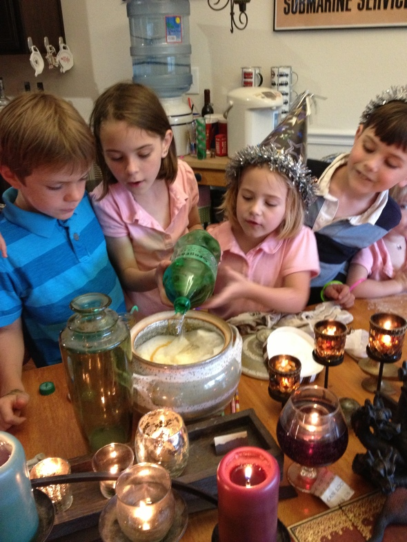 "The kids LOVED making the ""potion"""